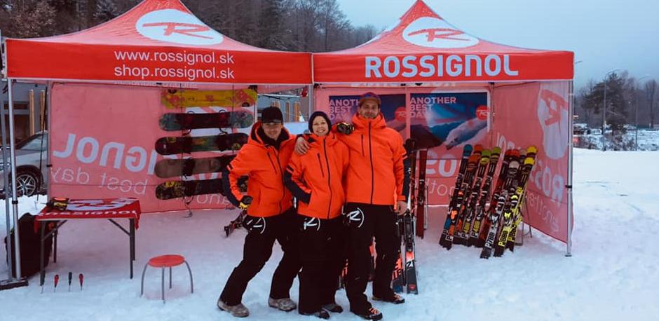 597876470 Rossignol eshop - Ako to vyzeralo na prvej testovačke Rossignol 2019?