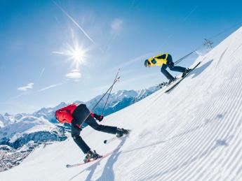 React - najnovšie lyže na upravené svahy
