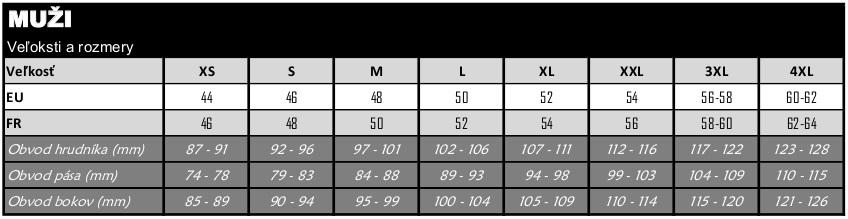 c55913cf0cbeb Naše veľkostné tabuľky vám pomôžu vybrať správnu veľkosť oblečenia.