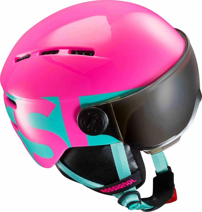 Rossignol eshop - Helmy  Visor Jr Girl pink 3c2eda775dd