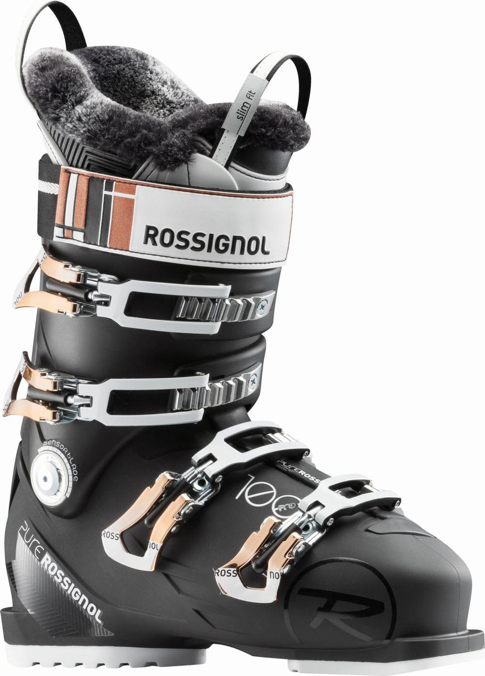 Rossignol eshop - Lyžiarky  Pure Pro 100 black d1e57c7b9cf