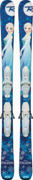 Lyža s viazaním: Frozen Kid-X + Kid-X 4 B76 wht/silv